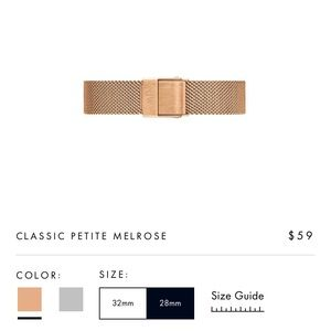Classic Petite Melrose Watch Band